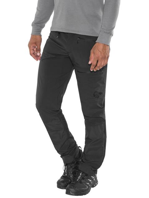 Norrøna Bitihorn Lightweight - Pantalones de Trekking Hombre - negro